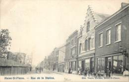 La Louvière - Haine-Saint-Pierre - Rue De La Station - Edit. Vve Thomas - La Louvière