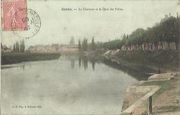 9232 - CPA Saintes - La Charente Et Le Quai Des Frères - Saintes