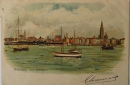 Anvers - Antwerpen LITHO // Vue Generale 190? - Antwerpen