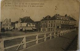 St. ANNA - Ste ANNE Voornaamste Plaats 19?? Kaart Defecten - Antwerpen