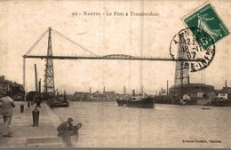 44 NANTES   LE PONT A TRANSBORDEUR - Nantes