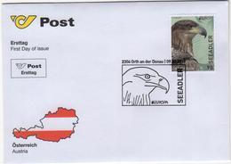 Austria 2019  FDC  EUROPA Birds Bird Europa White-Tailed Eagle - Eagles & Birds Of Prey