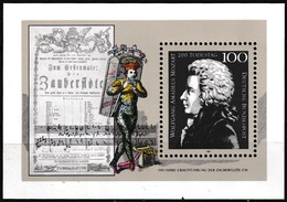Bloc Feuillet Neuf** - Bicentenaire De La Mort De Wolfgang Amadeus Mozart - BF 25 (Yvert) - RFA 1991 - [7] Federal Republic