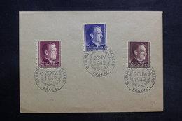 POLOGNE - Oblitération Temporaire De Krakau Sur Enveloppe En 1942 , Affranchissement Plaisant - L 33726 - 1939-44: 2. WK