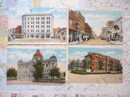 East Liverpool 5 Cartes + The Homer Laughlin China Co. Newell W.VA. - Etats-Unis