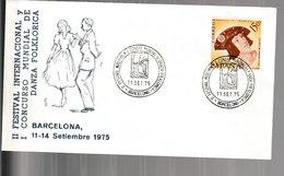 N 11) Spanien 1975 SSt Barcelona: Folklore, Tanz - Musik