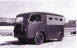 Camionette Citroen 'Le TUB' Type H - Véhicule Utilitaire De 1939     -  15x10 PHOTO - Camión & Camioneta