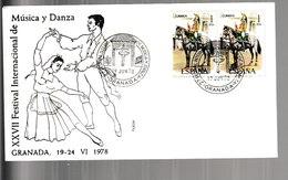 N 18) Spanien 1978 SSt Granada: Musik Und Tanz - Musik