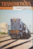 EVUE Des TRANSPORTS - TRANSMONDIA - N°14 - 1955 - Le Cargo Actuel - Au Sahara Le CdF ... - Nbreuses Illustrations - Otros