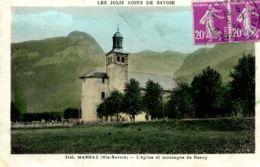 N°73826 -cpa Marnaz -l'église Et Montagne De Nancy- - Altri Comuni