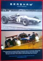 David Brabham - Handtekening