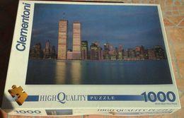 Puzzle Vue Des TWIN TOWERS Du World Trade Center De New-York (avant Le 911) - 1000 Pièces - Puzzles
