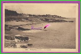 CPA (44 Loire Atlantique) - PREFAILLES - La Corniche - Écrite Voyagé Oblitéré 1937 - Préfailles