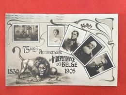 1830 - 1905 - 75ième ANNIVERSAIRE DE L'INDEPENDANCE BELGE - 75 JAAR ONAFHANKELIJKHEID BELGIE - Evènements