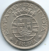 India - Portuguese - 1952 - 1 Rupia - KM29 - India