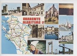 Charente Maritime Géographique Multivues : Carte Michelin N°989 - Francia