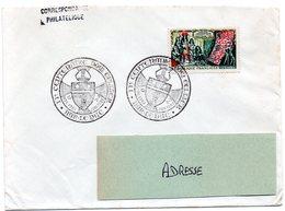 HERALDIQUE = 55 BAR Le DUC 1962 = CACHET Illustré  ' II° Centenaire De Dom Cellier' N° Yvt 1343 - Marcophilie (Lettres)