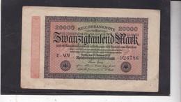 Banknote 2000 Mark, 1923 - [ 3] 1918-1933 : República De Weimar