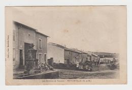 NO117 - Environs De BACCARAT - PETTONVILLE - Avec Personnages - Francia