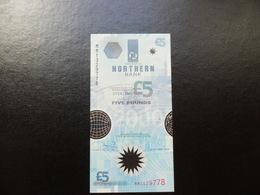 IRLANDA NORTE (NORTHERN BANK) 5 POUNDS 8/10/1999 ESTADO:EBC KM#203a - [ 2] Irlanda Del Norte