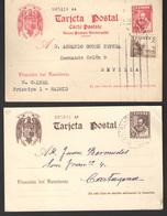 España  Nº 83/4. Año 1938/40 - Stamped Stationery