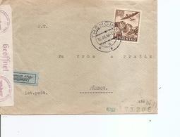 Slovaquie ( Lettre Par Avion En Censure De 1941 De Trencin Vers Prerov à Voir) - Slowakische Republik