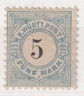 WÜRTTEMBERG   MI N° 54 * - Wurttemberg