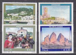 PGL DC0895 - ITALIA REPUBBLICA 2008 SASSONE N°3047/50 ** - 6. 1946-.. Repubblica