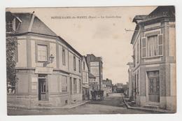 NO122 - NOTRE DAME DU HAMEL - La Grande Rue - Boucher - Attelage - France