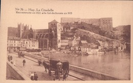 Huy La Citadelle Erekaart Carte D'honneur (7 X 12 Cm !!!) Edit U.C. Liège - Huy