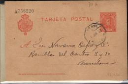 España  Nº 45 Y 47. Año 1904 - Enteros Postales