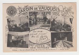 NO126 - ORLEANS - JARDIN DE VAUQUOIS - Multivues- Foyer Des Mutilés - Rue De La Bourie Rouge Et Rue De La Bourie Blanche - Orleans