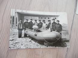 CPA 50 Manche Gouville Sur Mer Station De Sauvetage H.S.B. Les Frères Lacoley Poste De Secours - Autres Communes