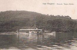VERBANIA - LAGO MAGGIORE - PIROSCAFO  REGINA  MADRE - 1924 - Verbania