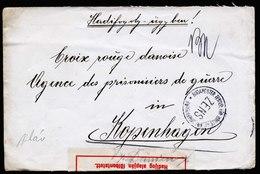 A6238) Ungarn Hungary POW Kriegsgefangenenbrief 1918 Zensur - Ungarn