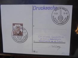 3eme REICH 1936 - Briefe U. Dokumente