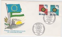 Germany 1967 FDC Europa CEPT  (G56-2A) - 1967