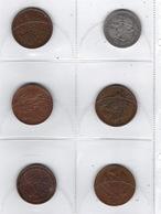 Monnaies, Lot De 16 Pièces Anciennes De Russie, A Voir, Dont 1 Demi Rouble ( 50 Kopeck ) - Russie