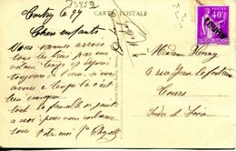 N°73852 -cachet Manuel  Louas - Marcophilie (Lettres)