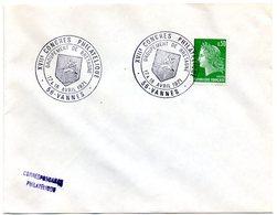 HERALDIQUE = 56 VANNES 1971 = CACHET Illustré D' ARMOIRIES '17° Congrès Philatélique / Groupement De Bretagne' - Marcophilie (Lettres)