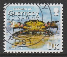 """Guernsey  2007 The 125th Anniversary Of """"La Societe Guernesiaise"""" - Self-Adhesive GY Multicoloured SW 1116 O Used - Guernsey"""