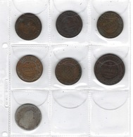 Monnaies, Lot De 16 Pièces Anciennes De Russie, A Voir, - Russie