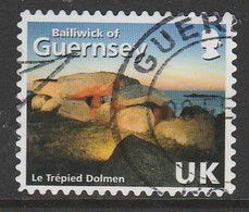 """Guernsey  2007 The 125th Anniversary Of """"La Societe Guernesiaise"""" - Self-Adhesive GY Multicoloured SW 1119 O Used - Guernsey"""