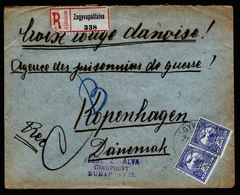 A6240) Ungarn Hungary POW R-Kriegsgefangenenbrief 1916 Zensur - Ungarn