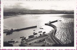 --    LAREDO -- COUCHER DU SOLEIL AU PORT  --  CARTE PHOTO  --1955 - Cantabria (Santander)