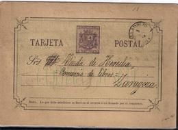 España  Nº 7A. Año 1875 - Enteros Postales
