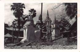 Burma - RANGOON - Dragon Pagoda - REAL PHOTO. - Myanmar (Burma)
