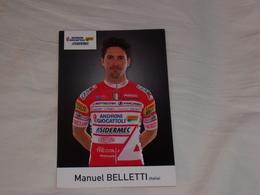 Manuel Belletti - Androni Giocattoli Sidermec - 2019 - Radsport