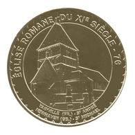 Eglise Romane Du Xi Siecle  76 - Monnaie De Paris