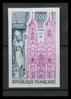 France N°1810 Basilique Saint-Nicolas De Port église Church Meurthe Non Dentelé ** MNH (Imperforate) - Chiese E Cattedrali